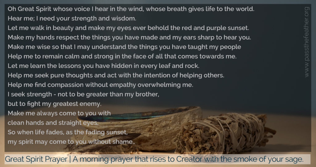 GreatSpiritPrayer