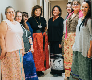 indigneous women's arts and entrepreneurship conference, ottawa, aacc, aboriginal arts Collective of Canada, Pass The FEather, Ribbon Skirts