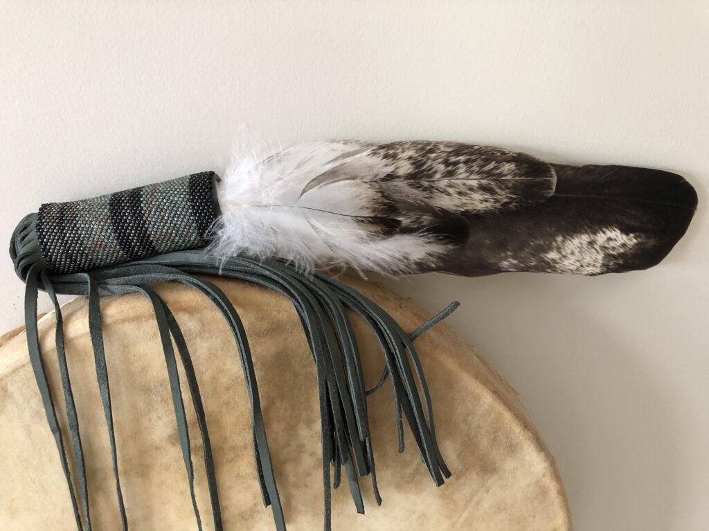 eagle-beaded