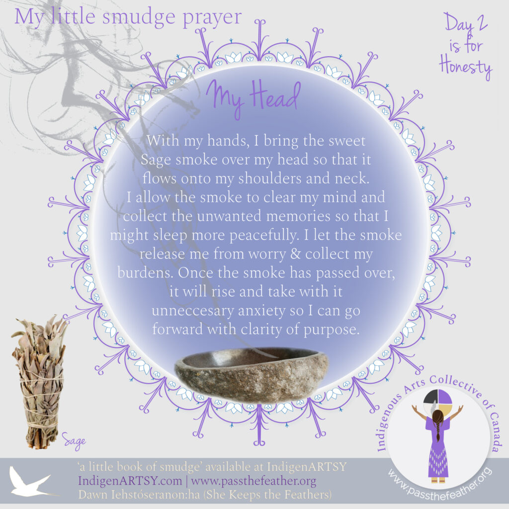 Smudge-Prayer-Head