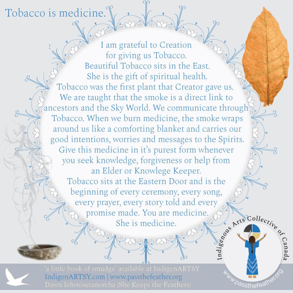 Smudge-Prayer-tobacco
