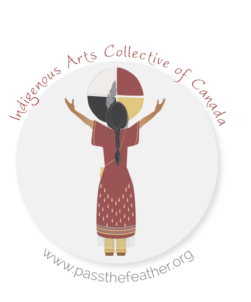 Pass The Feather, Indigenous Arts Collective of Canada, Native american arts, smudge feathers,
